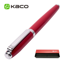 Fashion KACO COBBLE Series Metal Rollerball/Sign Pen 8 Colors for Choose 0.5mm Black Ink Student Gift Business Office Pens(China)