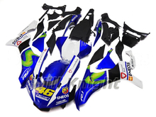 Injection Fairing Kit for Yahama YZF1000 YZF R1 2015 2016 Blue White Black VR46 Edition
