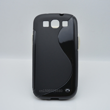 TPU Soft Gel S-Line Shockproof Case for Samsung Galaxy S3 SIII I9300 S 3 Neo i9301 Cell Phone Protective Cover Bags Skin