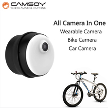 2017 Wearable Mini Camera M1 Bike Micro Camera Internal 8GB Memory 720P HD Body Camera Non-button Design Mini DV DVR Camera