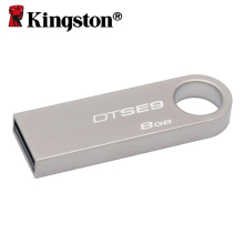 Kingston 8gb metal casing usb 2.0 flash drive memory stick pen drive micro U disk chiavetta usb