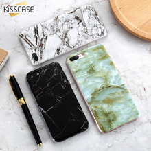 KISSCASE Marble Skin Case For iPhone 6 6S iPhone 7 7 Plus 5S 5 SE Soft Silicon Phone Cover For Samsung Galaxy S8 Plus S7 S6 Edge