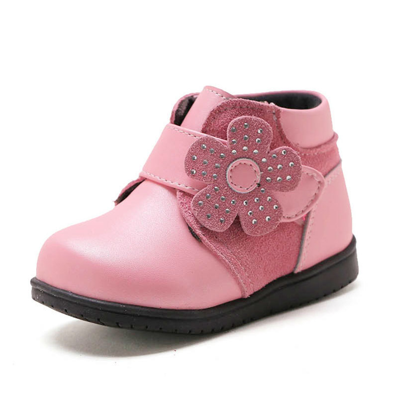 Baby Boots Prewalk Autumn Winter Flat Superflys Galoshes Kids Girls Ankle Boots Tipsietoes Children Military Boots 60Y007<br>