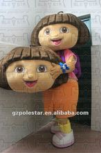 NO.2035 hot sale dora costumes for party
