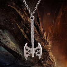 dwarf Gimli's axe necklace silver pendant jewelry for men and women wholesale