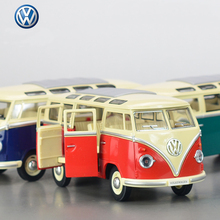 Hot Sale  volkswagen VW bus 1:24 Alloy Diecast Models Car Toy Collection For Boy Children As Gift brinquedos meninas