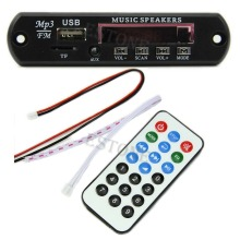 Hi-Q Wireless Remote Music Speaker USB MP3 Decoder Decoding Board Audio Module Logic ICs(China)