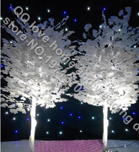 2pcs/lot 160cm height Wedding props ginkgo tree road Yingbin area layout wedding wish tree ginkgo tree wedding road lead props(China)