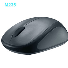 Logitech Wireless Mouse Gamer M235 Original Mice Unifying Receiver for Lap Top PC Ergonomic Optical Mini Computer Mouse