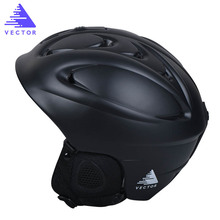 VECTOR Hot Sale Ski Helmet Integrally-molded Skiing Helmet For Adult and Kids Safety Skateboard/Ski Snowboard Helmet ACC30012(China)