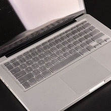 Waterproof New EU Silicon Keyboard Cover Laptop Skin Notebook Protector for Apple For Macbook Pro 13 15 17 Air(China)