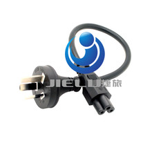 High quality short power cord three turn Mickey all power cords for the computer's power 300cm(China)