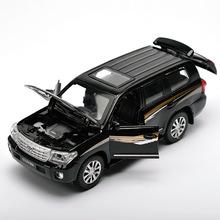 Alloy 15Cm OutStanding Car Model,  Alloy Model 4 Open Doors W/ light and music. Toys Vehicles FreeShipping