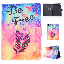 Case For ipad Pro 9.7 Tablet cases 3d printer pu leather stand card holder Silicone Cover Case For ipad Pro mini Protector film