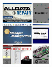 alldata and mitchell software all data 10.53 +elsawin +vivid workshop+manager plus + moto heavy truck 49in1 hdd 1tb 2017 best