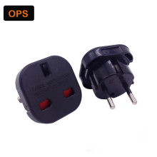 High Quality Universal Travel Adapter US UK AU to EU plug Adapter Converter Power Plug Adaptor Converter(China)