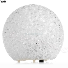 Night Light Magic LED Crystal Ball Colorful Night Light Lamp Party Home Room Decor Kids Gift(China)