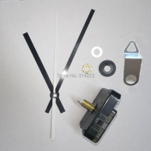Free shipping 5 Mute scanning Quartz Clock Movement for Clock Mechanism Repair DIY clock accessories shaft 20mm JX005 Wholesale