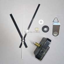 Free shipping 5 Mute scanning Quartz Clock Movement for Clock Mechanism Repair DIY clock accessories shaft 20mm JX005 Wholesale(China)