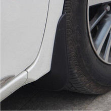Car-styling  special fender Mudguards modified decorative case for Volkswagen vw POLO 2011-2016
