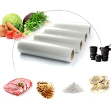 SKitchen Vacuum Food Sealer Rolls PE Food Grade Membranes Keep Fresh Vacuum Storage Bag Wrapper Film 3 Size Foodsaver Rolling