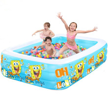 2017 New Arrival Extra Large Children and Family Swimming Pool Inflatable Big Swimming Play/Paddling Pool Adult Bathtub(China)