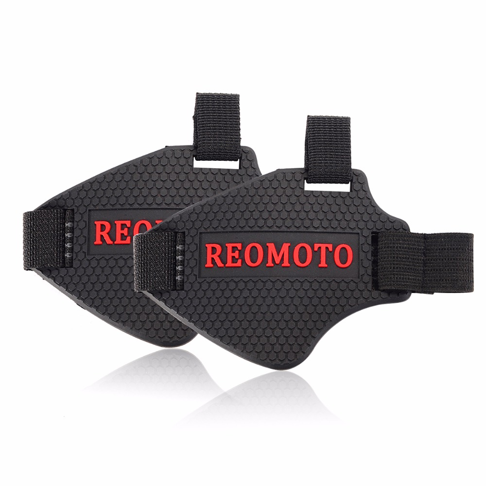 Buy Motorcycle Motocross Chest Protector Pads Off Sarung Tangan Taichi Rst390 Gloves Rst 390 Original Wear Resisting Rubber Gear Shift Pad For Riding Shoes Scuff Mark Motor Boot