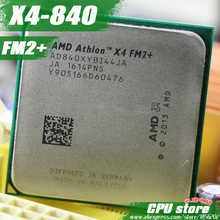 Free shipping AMD X4 840 Quad-Core FM2+ 3.1GHz 4MB 65W CPU processor pieces X4-840 (working 100%) 840 ,there are, sell X4 830(China)