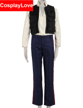 High Quality Star Wars Costume Han Solo Cosplay Costumes For Christmas Halloween Party CosplayLove Stock