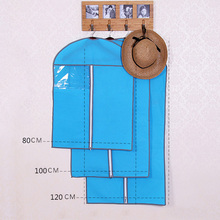 Thicken Non-woven Clothes dust cover Moisture Proof Organization Storage Bag dust bags Clothes Protector Case(China)