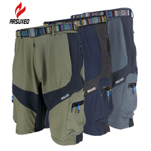 M-XXL Men Cycling Shorts Adjustable Waist Downhill MTB Cube Shorts for Outdoor Camping Hiking Fitness Short Pants Ropa Bermuda(China)