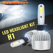2Pcs LED H1 H3 H4 H7 H11 880 9004 9007 Headlight Bulbs 72W 8000LM High Low Beam Lamp 6500K 12V BOOMBOOST(China)