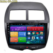 1024*600 10.2'' Quad-Core Android 4.4 Car DVD for Mitsubishi ASX 2010-2015 With Bluetooth 16GB Nand Flash 3G Wifi Maps GPS