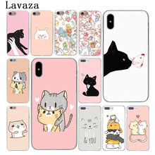Buy Lavaza Kawaii Molang Cartoon Anime dog cat Hard Phone Case Apple iPhone X 10 7 6 6s 8 Plus 4 4S 5 5S SE 5C Coque Shell Cover for $1.49 in AliExpress store