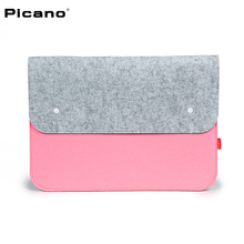 PICANO new arriving Felt fabric handbag man IPAD laptop bag liner package FASHION Design  Business Casual handbag Easy to carry