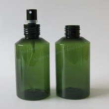 20 x 150ml DIY Green Pet Spray Bottle with Black Aluminum Sprayer, 5oz Fragrance Perfume Atomizer