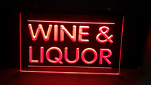Wine and Liquor Store beer bar pub club LED Neon Sign(China)