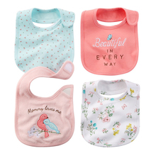 Free Shipping Baby Girl Boy Waterproof Carter Cartoon Towel Kids Toddler Dinner Feeding Bibs Bandanas Burp Cloths baby bibs