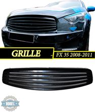 Radiator grille case for Infiniti FX 35 2008 - 2011 with protective mesh Plastic ABS Car Styling Accessories style