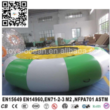 DIA 4.6m Inflatable Water trampoline for Floating park Island(China)
