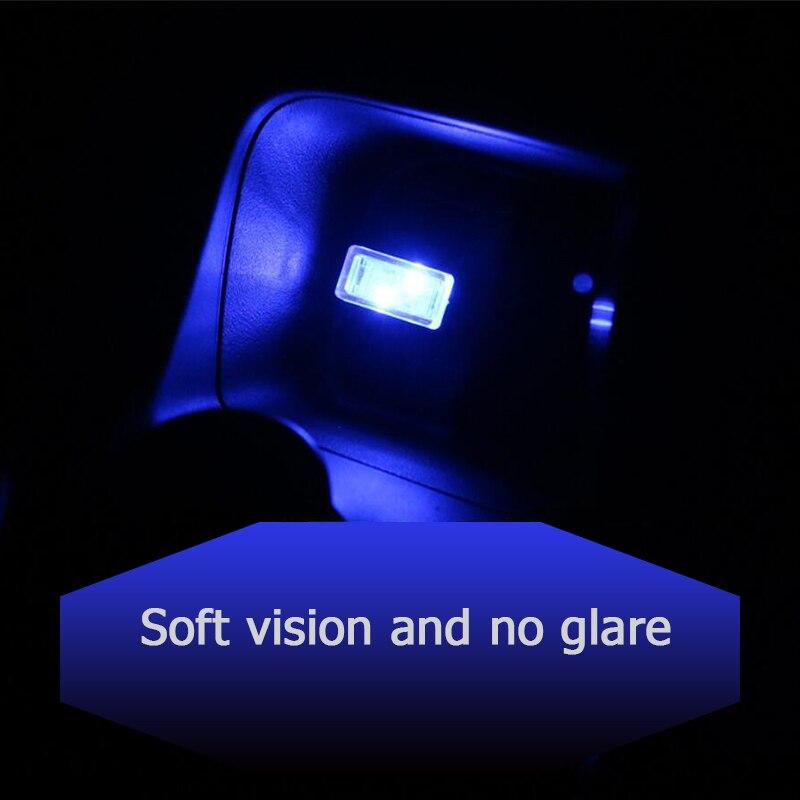 CNSUNNYLIGHT Car LED Atmosphere Lights With USB Sockets Decorative lights Interior Light Car Foot Lamp Universal Play and Plug (4)