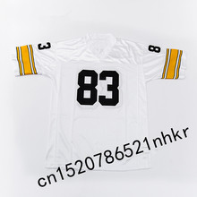 Retro star #83 Heath Miller Embroidered Name&Number Throwback Football Jersey(China)