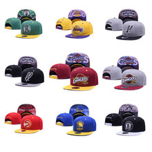 High Quality Baseball Caps for Women Men 2017 Summer Adjustable Hats Fashion Basketball Team Logo Baseball Cap Fans Hip Hop Hat