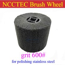 grit 600 NCCTEC Stainless steel wire drawing wheel brush FREE shipping | install in NCCTEC NSDM950 stainless steel grinder(China)