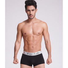 Large Silver Edge Mens Underwear Boxer CK World Cup Commemorative Editio 100% Cotton Mens Boxers Shorts Men Underpants