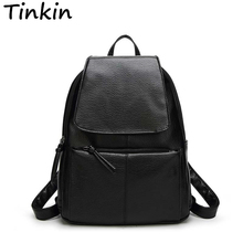 Tinkin Most Cost-effective Backpack New Arrival Vintage Women Shoulder Bag Girls Fashion Schoolbag High Quality Women Bag