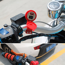 Car-styling New Waterproof 12V To 5V 1.5A Motorcycle Smart Phone GPS USB Charger Power Adapter Motorcycle Parts @tr