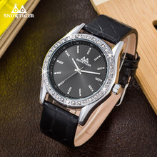 Best Watches For Men Luxury Brand Male Watch Diamonds Analog Watches Leather Men's Quartz Military Wristwatches Online(China)