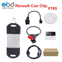 2017 Newest Renault Can Clip Scanner V165 Auto Renault Scanner Interface With High Quality Renault Clip Support Multi-Language
