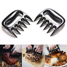 2pcs Grizzly Claws Meat Handler Fork Tongs Pull Shred Pork BBQ Barbecue Tool Bear Paws Claws Forks